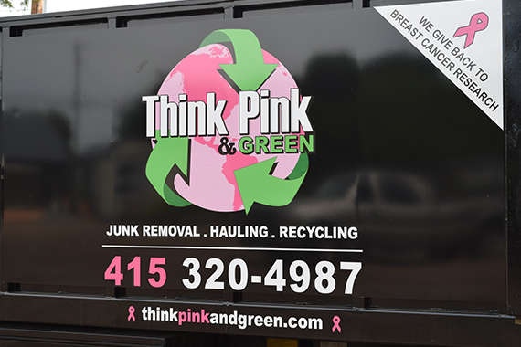 Think Pink and Green